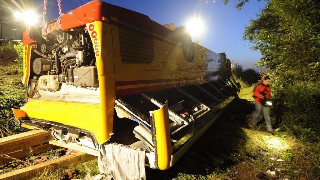Nehoda českého autobusu u německého Schwarzenfeldu