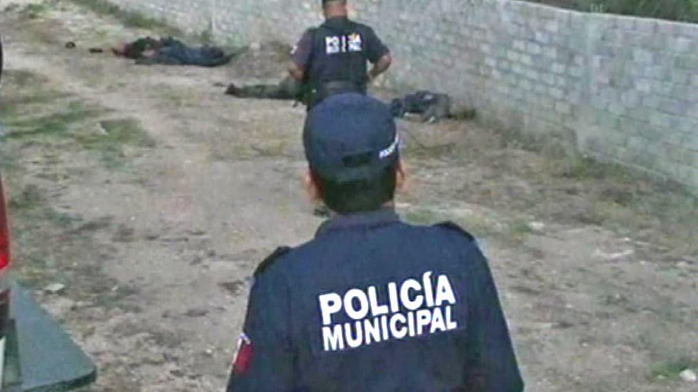 Mexická policie a oběti drogové války