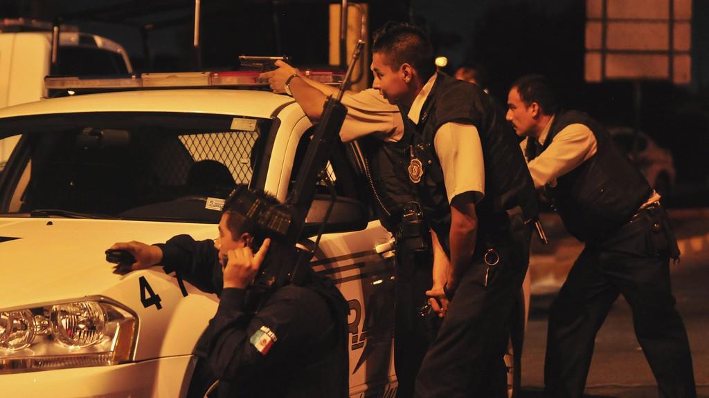 Mexická policie zasahuje v Ciudad Juaréz