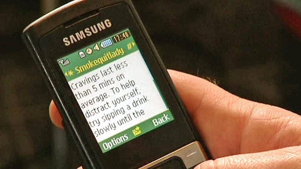 SMS proti kouření