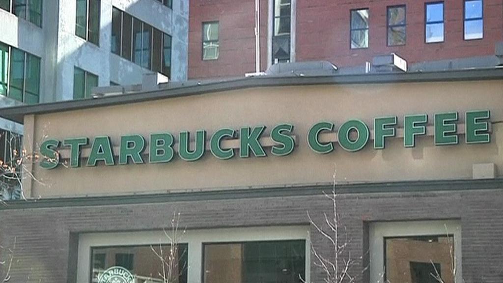 Kavárna Starbucks v Chile