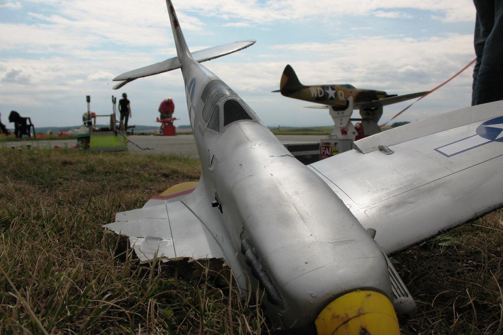 Modelářská letecká bitva