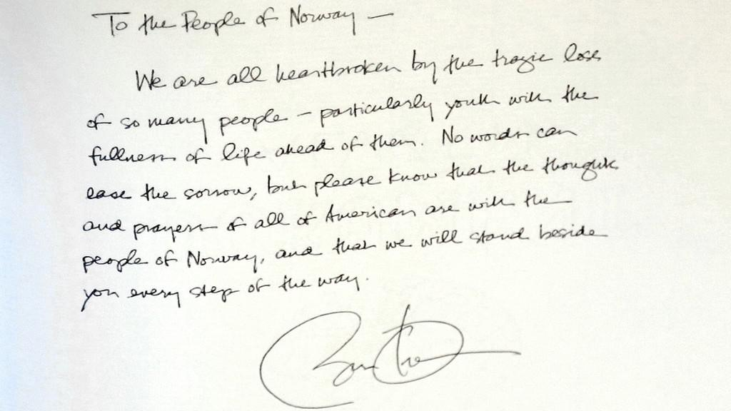Soustrast Norům projevil i Barack Obama