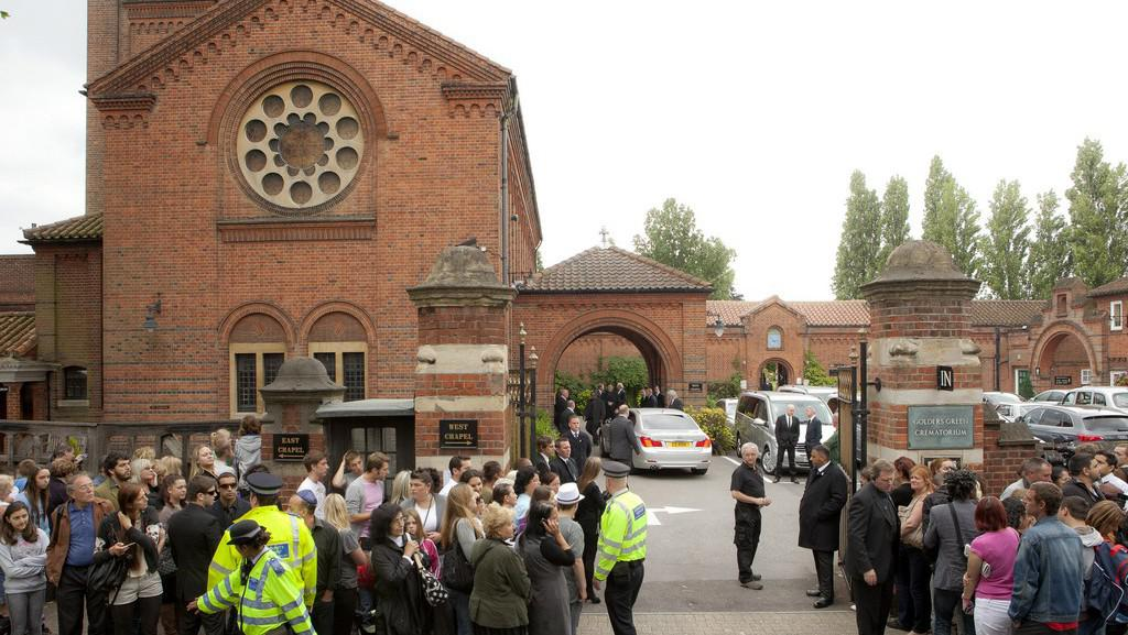 Pohřeb Amy Winehouseové