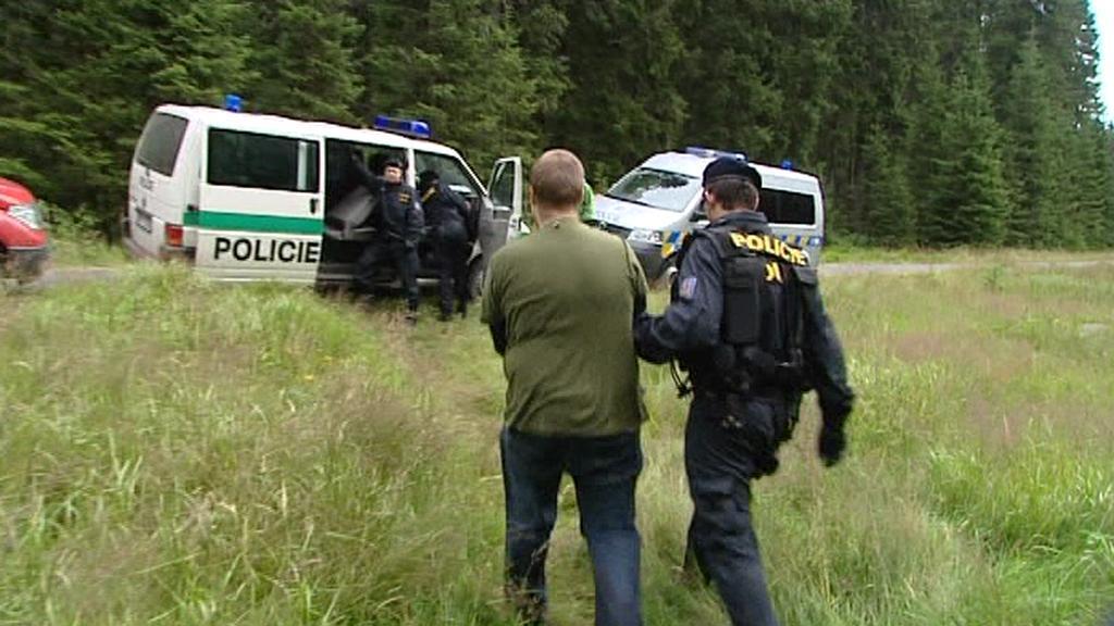 Zákrok policie