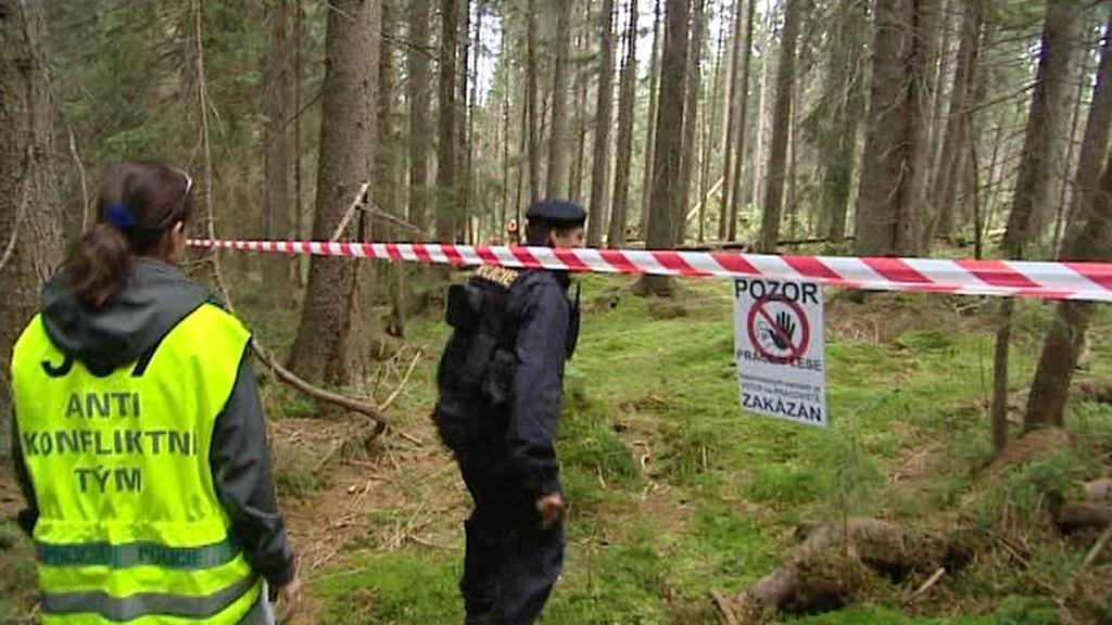 Šumava, blokáda