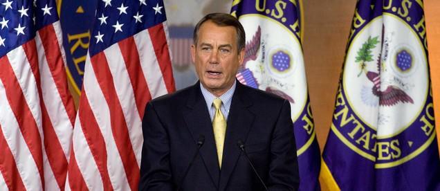 Šéf amerického kongresu John Boehner