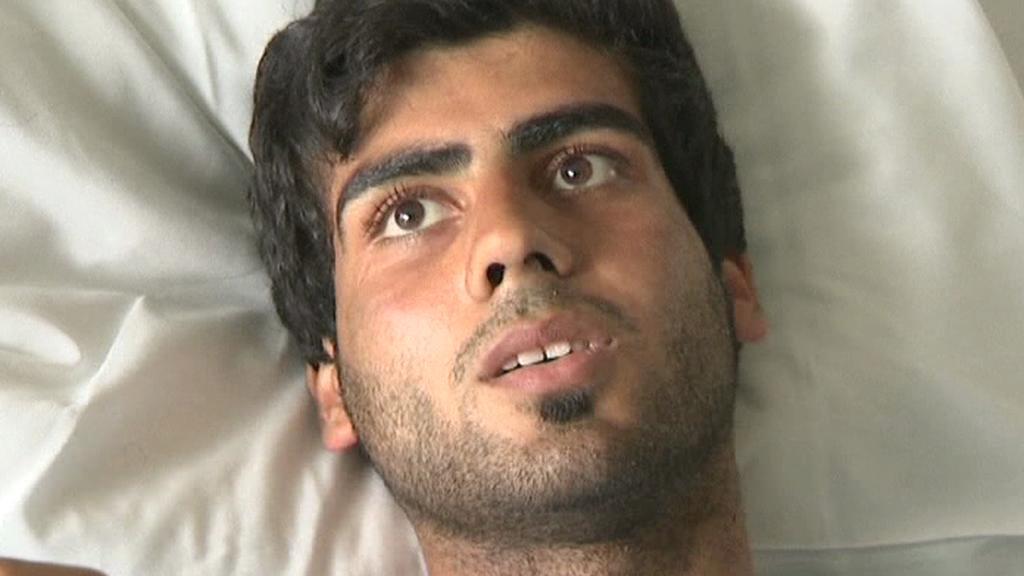 Na ostrově Utöya byl postřelen i afghánský mladík Husejn