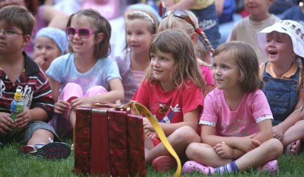 Dětské publikum festivalu Na ulici
