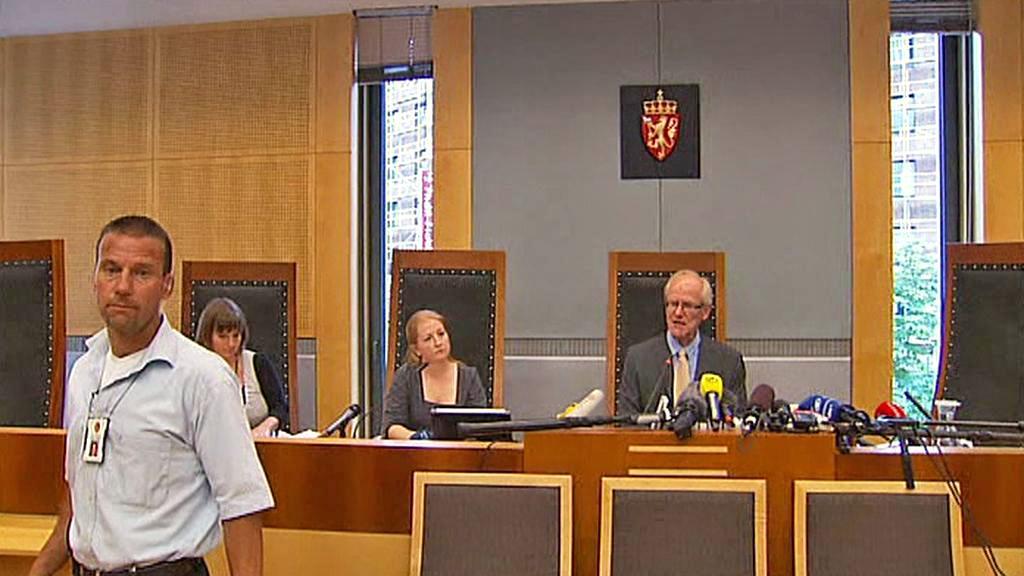 Brífink norského soudu