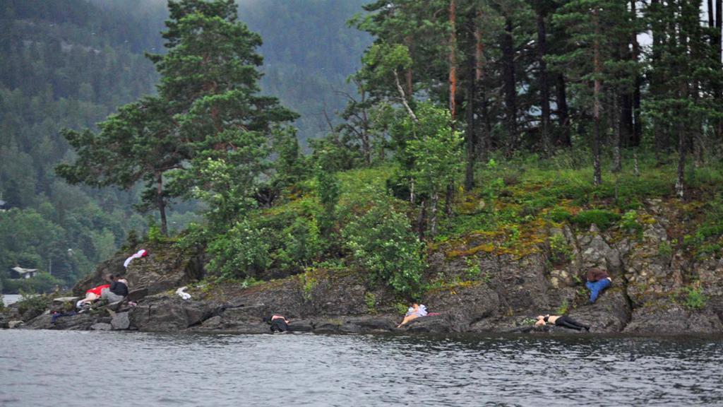 Oběti masakru na norském ostrově Utöya