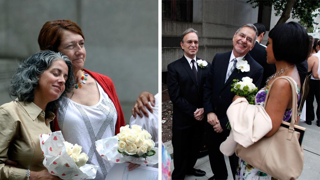 New York povolil sňatky homosexuálů