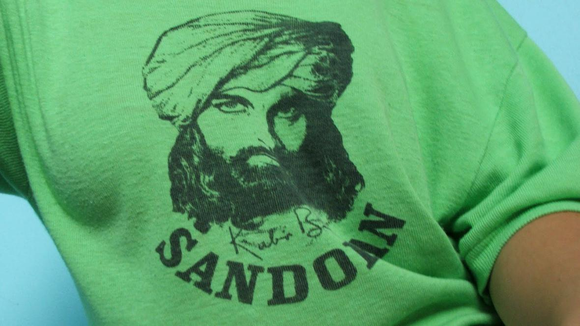 Tričko se Sandokanem