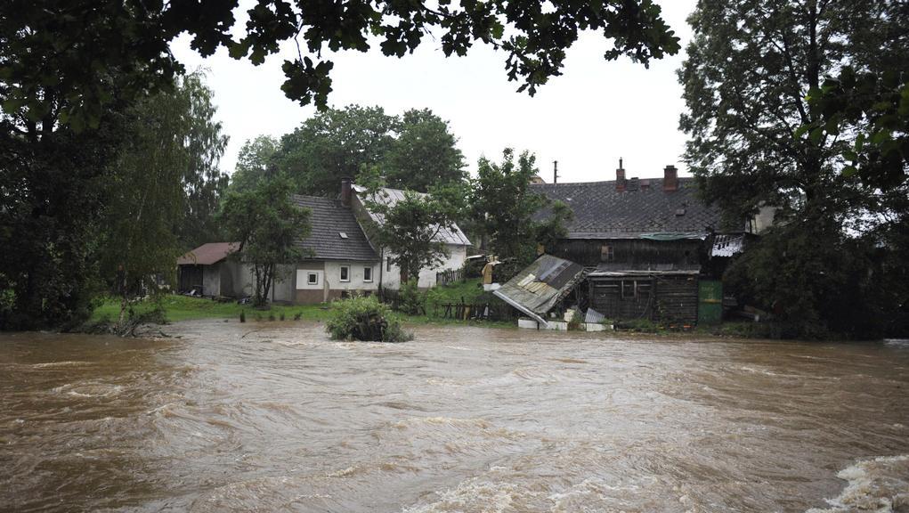 Řeka Smědá v Raspenavě