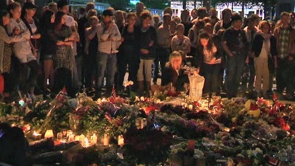 Norové vzpomínají na oběti pátečního masakru