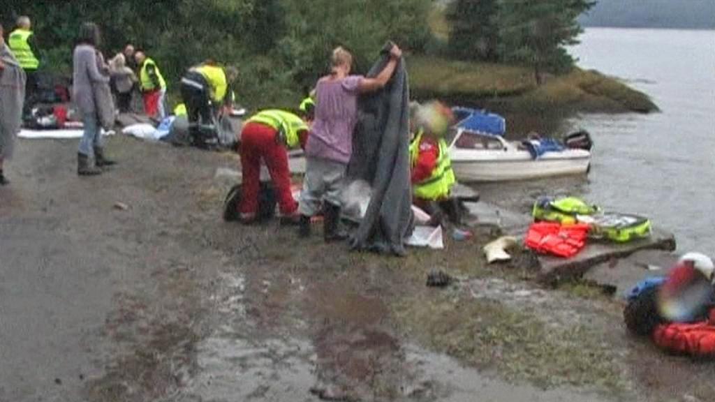 V Norsku se stále pátrá po obětech pátečního masakru
