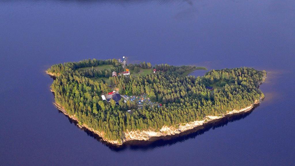 Ostrov Utoya nedaleko Osla