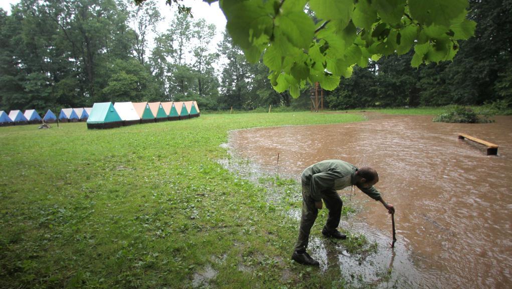 Tábor v Mělčanech na Rychnovsku