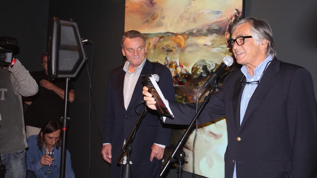 Bohuslav Svoboda a Jiří Bartoška
