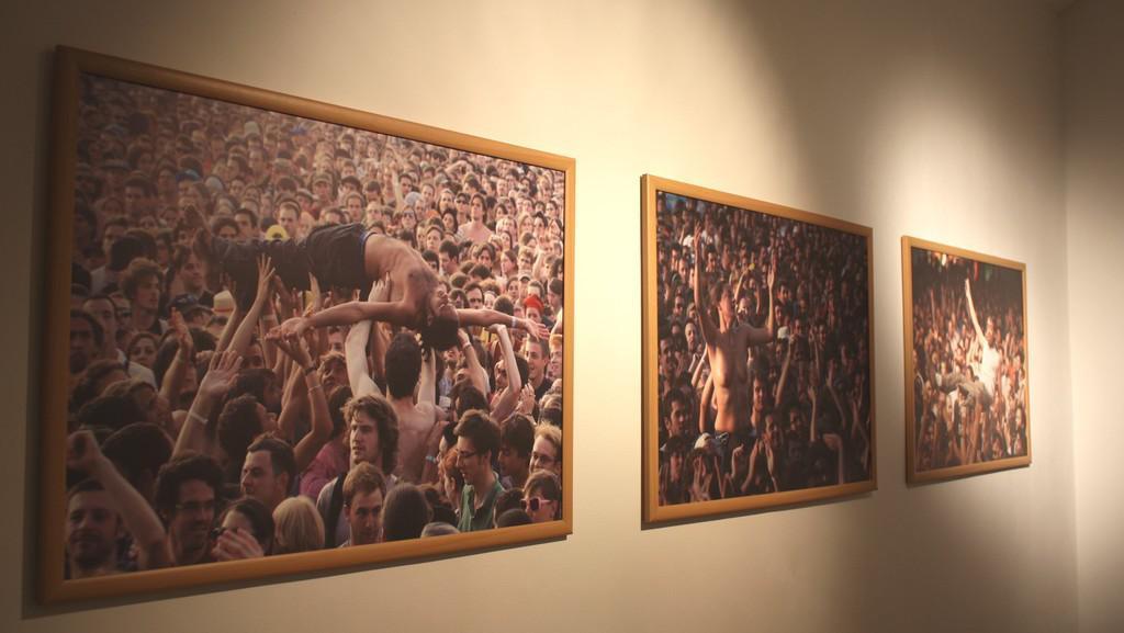 Z výstavy Dragana Teodorovieče - Zeka