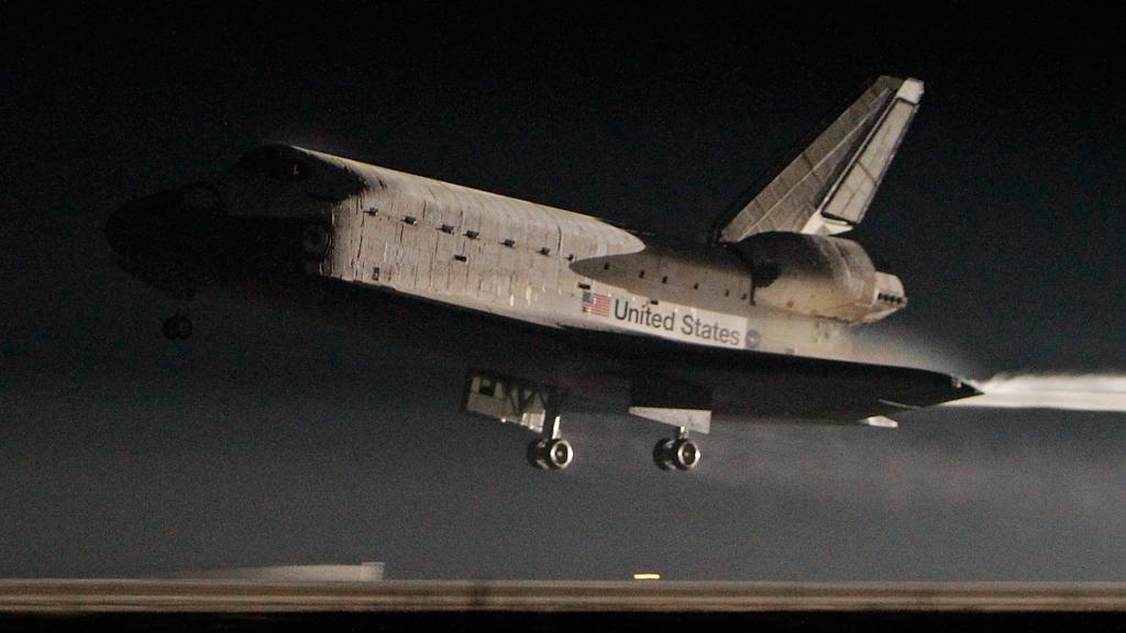 Přistání raketoplánu Atlantis