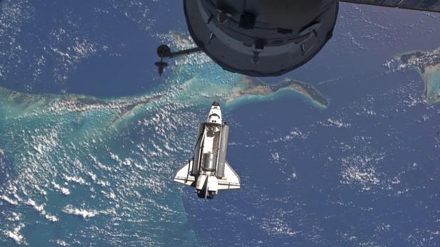 Atlantis na své poslední misi