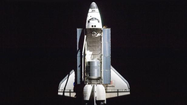 Raketoplán Atlantis na své poslední misi