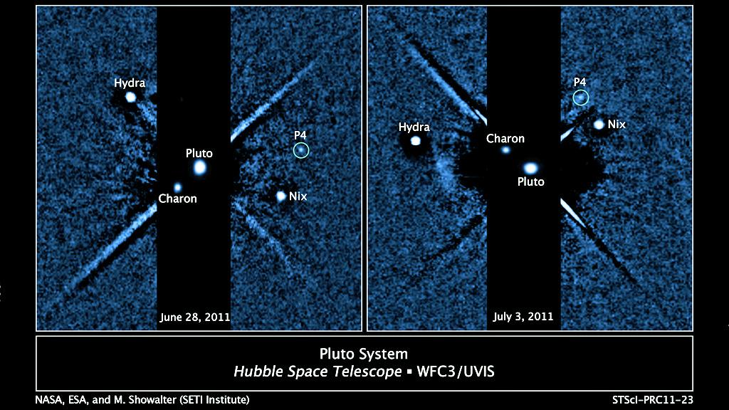 Čtvrtý měsíc Pluta P4