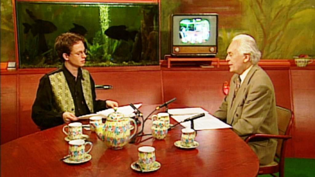 Jiří Ješ v televizním rozhovoru