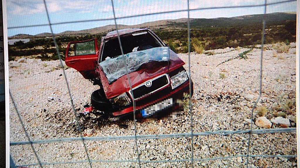 Nehoda české rodiny v Chorvatsku