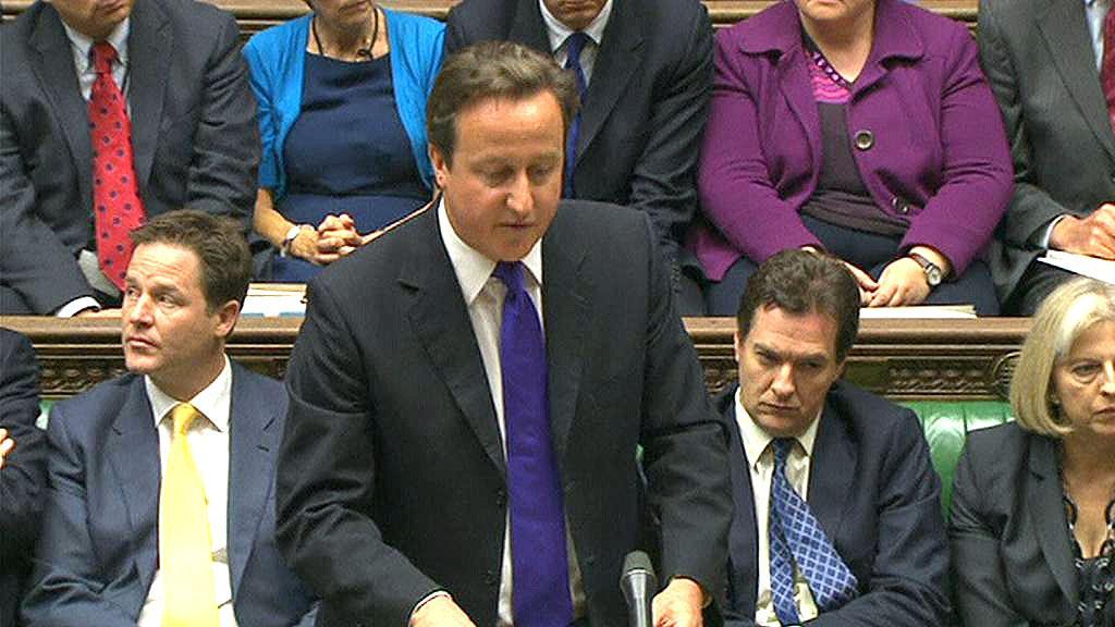 David Cameron k odposlechům