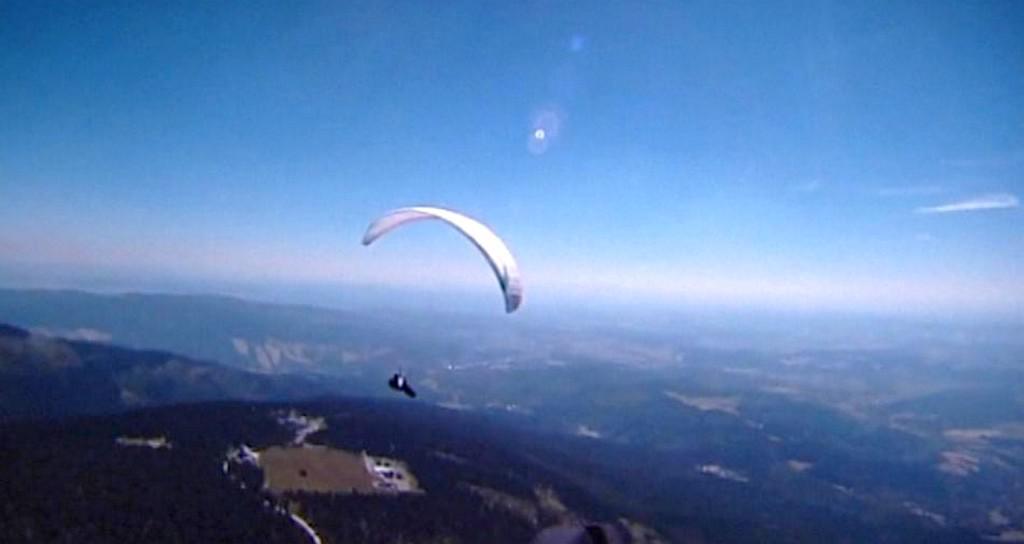 Létání na paraglidu