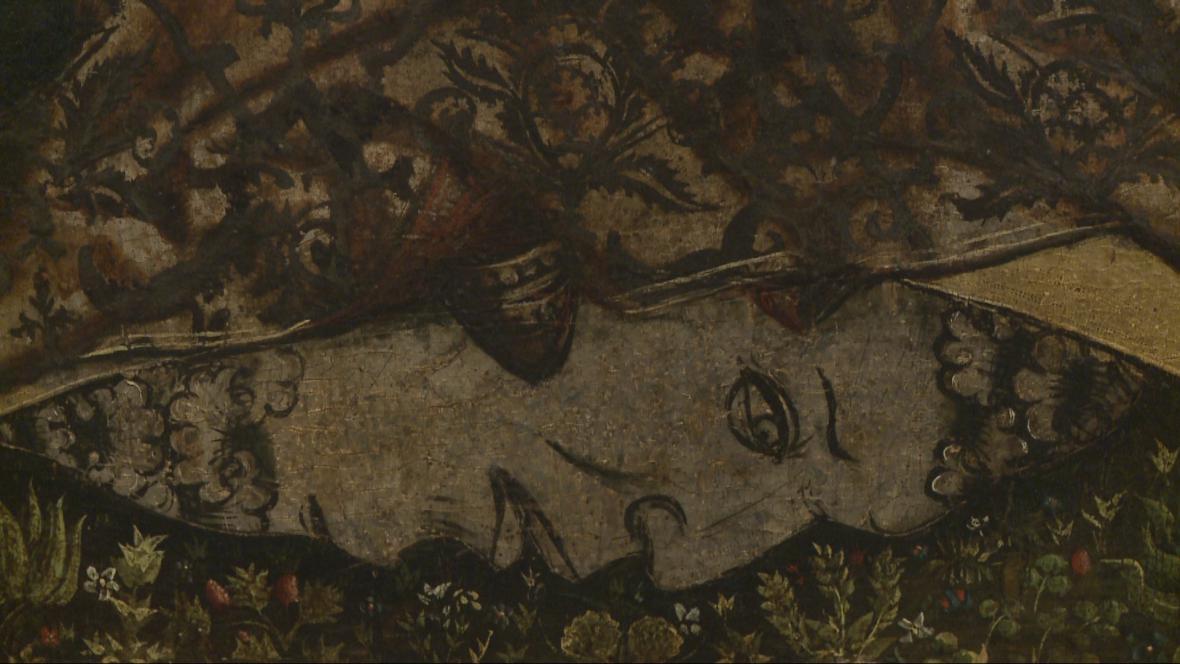 Asumpta z Deštné (detail)