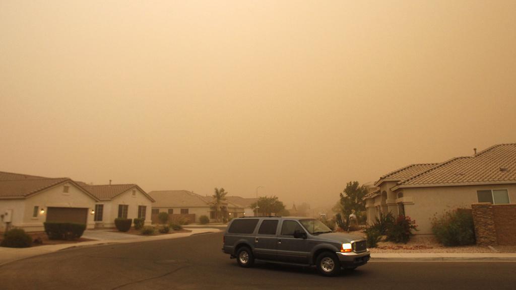 Písečná bouře ve Phoenixu