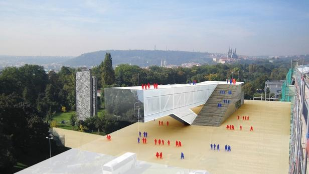Pavilon pro epopej na pražské Letné