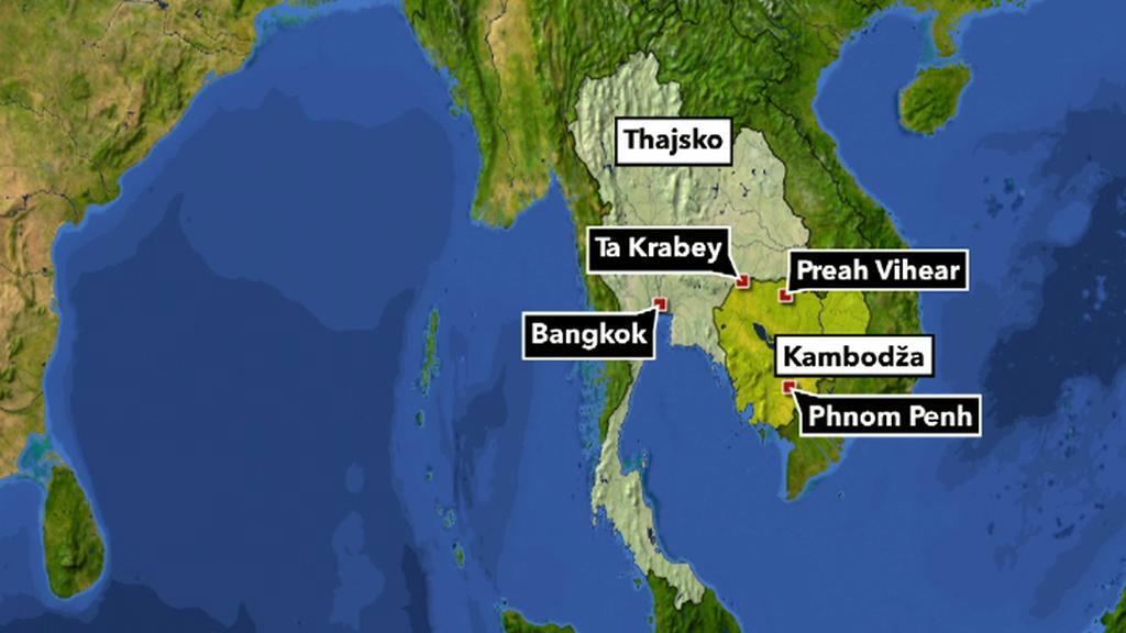Thajsko-kambodžský spor o chrámy