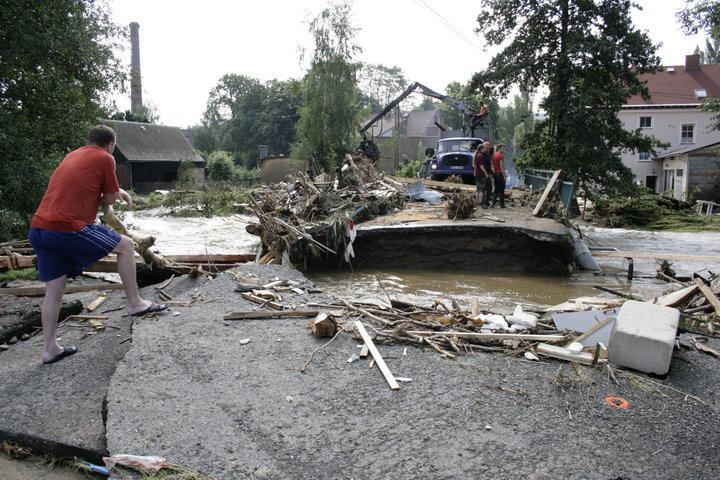 Chrastava - zbytky mostu