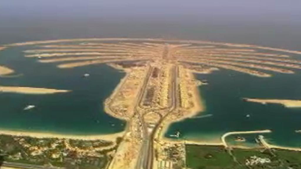 Palmový ostrov v Dubaji