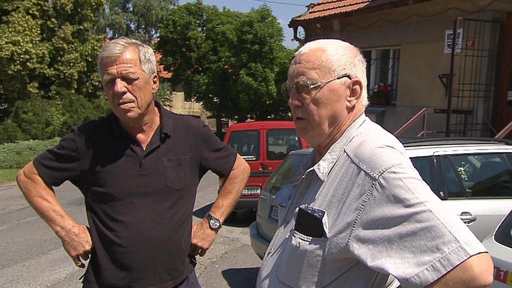 Starosta Libor Holík (vlevo) a místostarosta Ludvík Wařecha