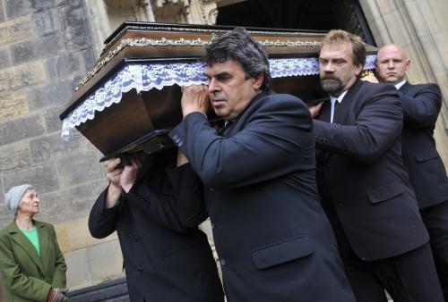 Pohřeb Josefa Suka