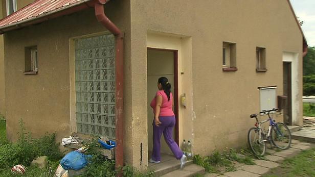 Dům napadené rodiny v Býchorech
