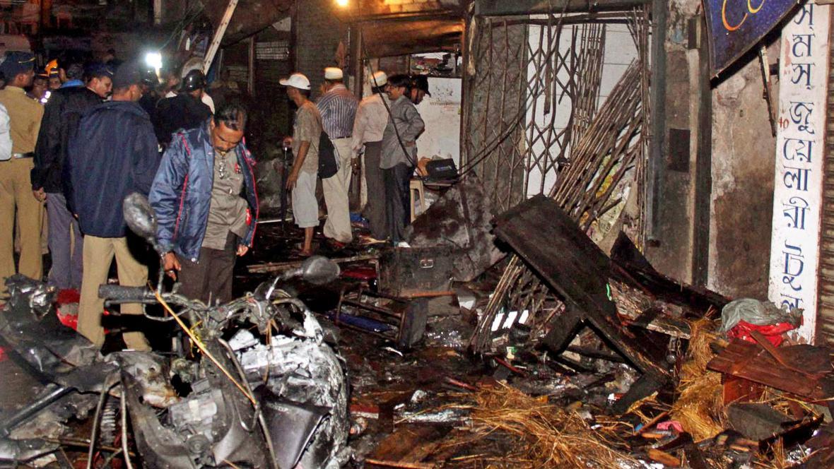 Teroristický útok v Bombaji