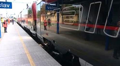 Railjet ve stanici