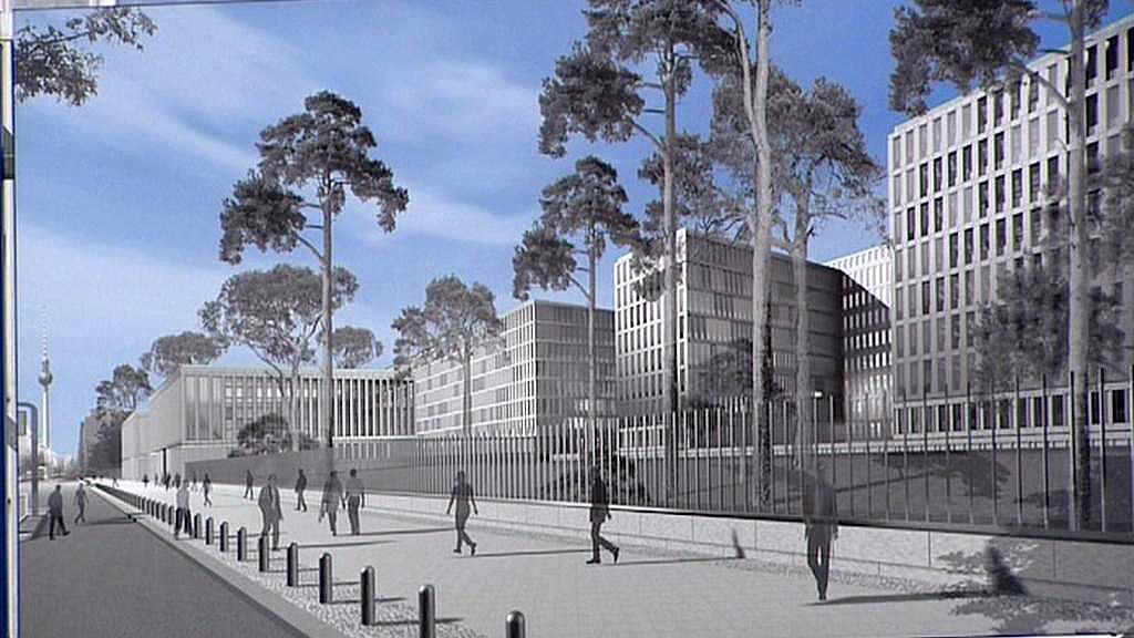 Vizualizace nové budovy BND