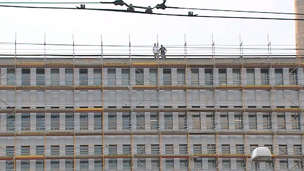 Stavba nové budovy BND