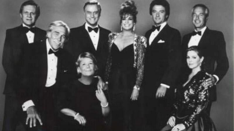 Herci z amerického seriálu Dallas