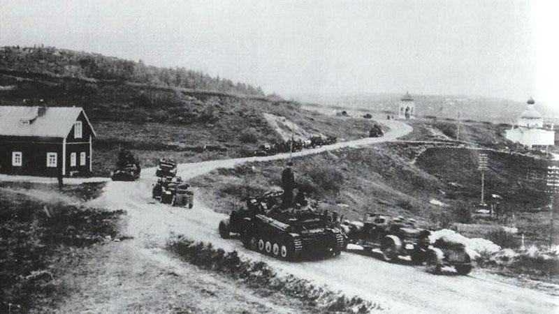 Plán Barbarossa - vpád Německa do SSSR