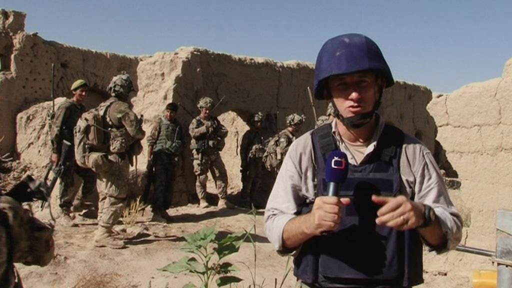 Michal Kubal natáčel s americkými vojáky v Afghánistánu