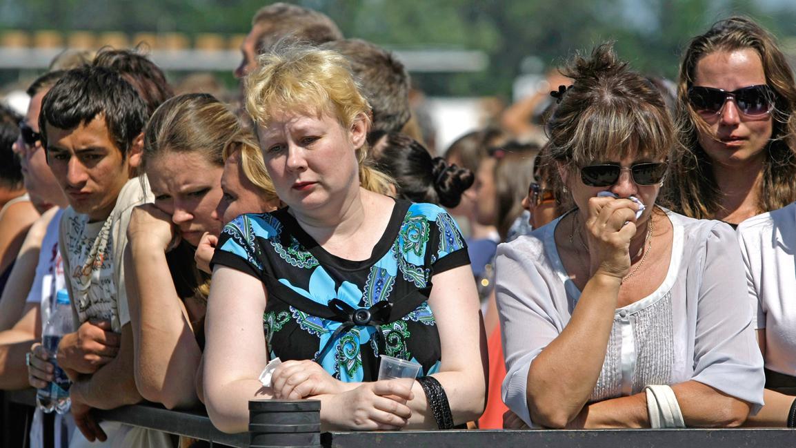 Rusové drží smutek za oběti lodního neštěstí na Volze