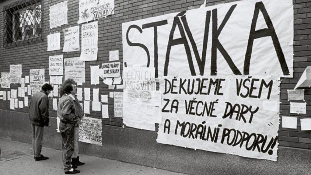 Listopad 89 v Brně